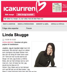 Ica kuriren Linda Skugge Mats Kardell bok