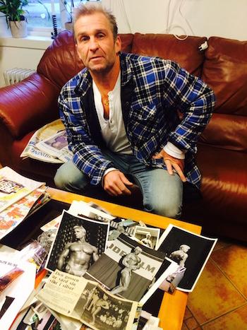 Mats kardell bild foto doping bodybuilding kroppsbyggare