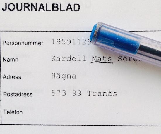 Mats Kardell Polisjournal bodybuilding bodybuilder doping bok biografi 2015 träning kost